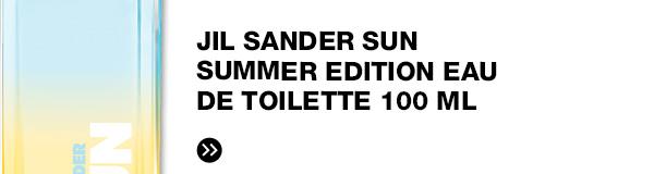 JIL SANDER SUN Summer Edition Eau de Toilette 100 ml