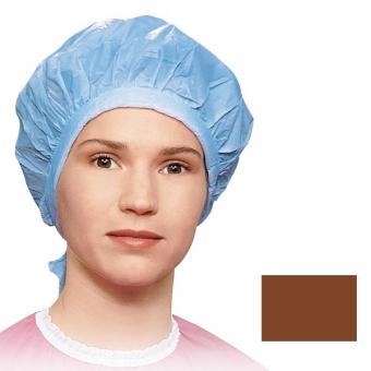 Bonnet de ­protection pour permanentes Brun