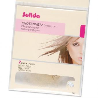 Solida Ultra-Stretch-Knotennetze Hell, Pro Packung 2 Stück