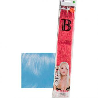 Balmain Fill-In Extensions Straight Fantasy Human Hair Sky Blue - 1