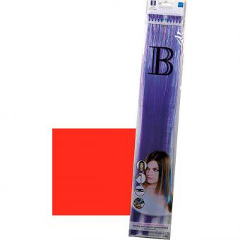 Balmain Fill-In Extensions Straight Fantasy Fiber Hair Red - 1