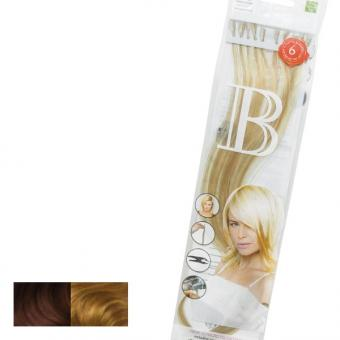 Balmain Fill-In Extensions Natural Straight Duotone 20 Medium Pearl Blond