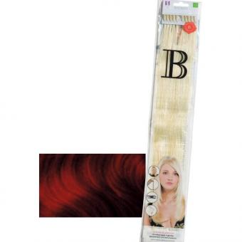 Balmain Fill-In Extensions Straight Wine Red