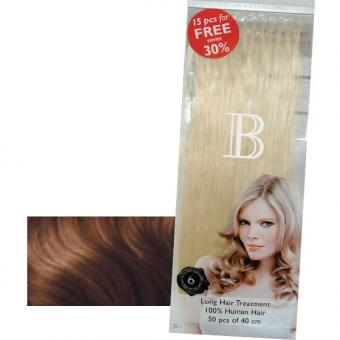 Balmain Fill-In Extensions Value Pack Natural Straight 10 (level 6) Dark Blond