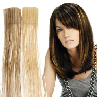 Balmain Color Flash Tape Extensions 40 cm Sand