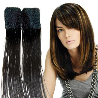 Balmain Color Flash Tape Extensions 40 cm Dark Espresso