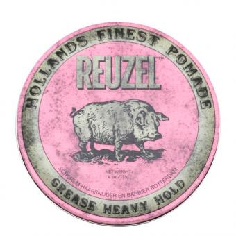 Reuzel Pomade Pink Heavy Hold Grease