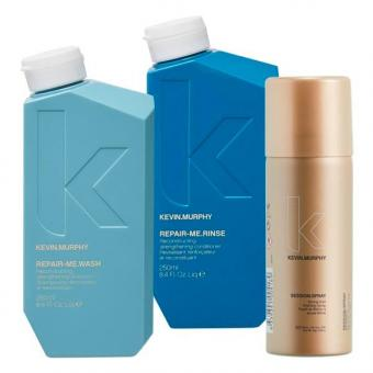 Kevin.Murphy Repair-Me Wash Set (Shampoo 250 ml + Conditioner 250 ml + Haarspray 100 ml)  - 1