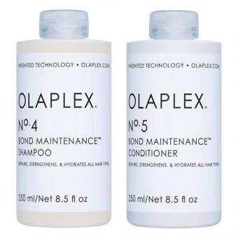 OLAPLEX No. 4 + No. 5 Set (Shampoo 250 ml + Conditioner 250 ml)  - 1