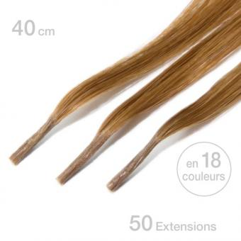 Balmain Fill-In Micro Ring Extensions 40 cm