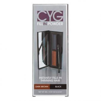 Dynatron Cover your gray Fill-In Powder Dark Brown   Black 4 g - 1