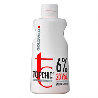 Goldwell Topchic Cream Developer Lotion 6 % - 20 Vol., 1000 ml - 1