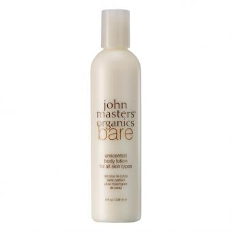 John Masters Organics Bare Unscented Body Lotion 236 ml