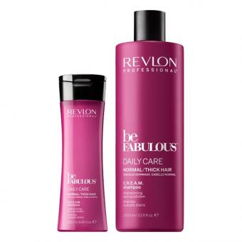 Revlon Professional Be Fabulous Daily Care Normal/Thick Hair Cheveux normaux Shampooing quotidien