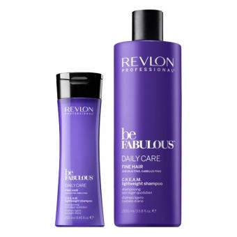 Revlon Professional Be Fabulous Daily Care Fine Hair Cheveux fins Shampooing léger quotidien