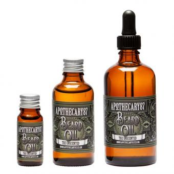 Apothecary87 Beard Oil The Unscented