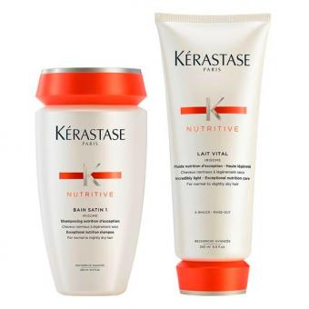 Kérastase Nutritive Pflegeduo Set (Shampoo 250 ml + Conditioner 200 ml)  - 1