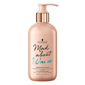 Schwarzkopf Mad About Waves Sulfat Free Cleanser