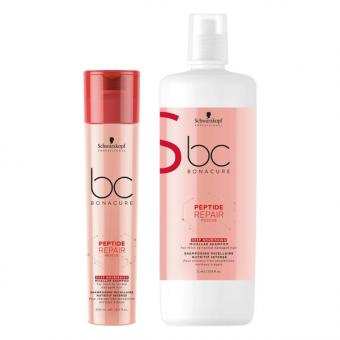 Schwarzkopf BONACURE Peptide Repair Rescue Shampooing Micellaire Intense