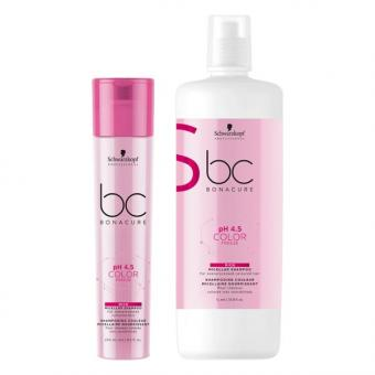 Schwarzkopf BONACURE pH 4.5 Color Freeze Rich Micellar Shampoo