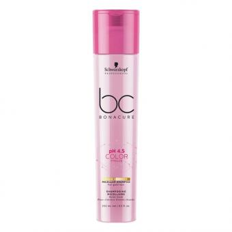 Schwarzkopf BONACURE pH 4.5 Color Freeze Shampooing Micellaire Gold Shimmer 250 ml