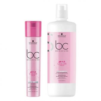 Schwarzkopf BONACURE pH 4.5 Color Freeze Shampooing Micellaire Silver