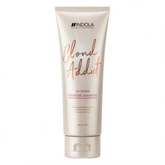 Indola Blond Addict Pinkrose Shampoo 250 ml