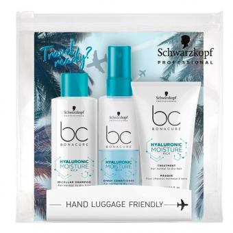 Schwarzkopf BONACURE Hyaluronic Moisture Kick Travel Kit  - 1