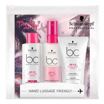 Schwarzkopf BONACURE pH 4.5 Color Freeze Travel Kit  - 1