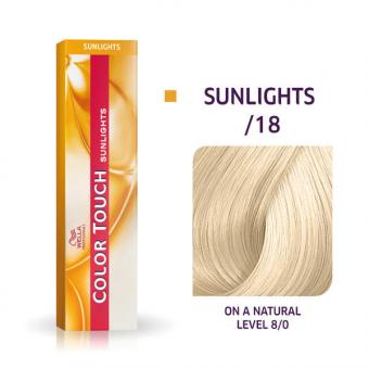 Wella Color Touch Sunlights /18 Asch Perl - 1