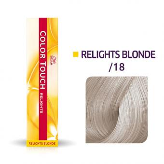 Wella Color Touch Relights Blonde /18 Asch Perl - 1