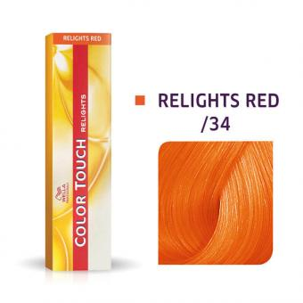 Wella Color Touch Relights Red /34 Doré cuivré - 1