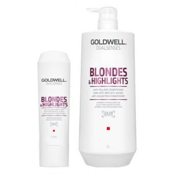 Goldwell Dualsenses Blondes & Highlights Anti-Yellow Conditioner  - 1