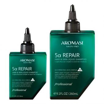 AROMASE Salon-Pro 5α Repair Hair & Skin Liquid Shampoo