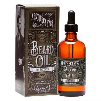 Apothecary87 Beard Oil The Unscented 100ml, 100 ml