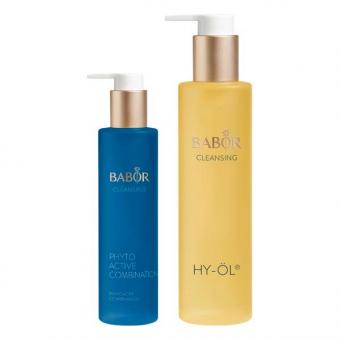 BABOR CLEANSING HY-ÖL & Phytoactive Combination Set
