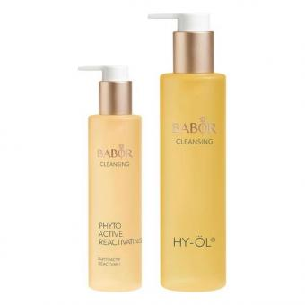 BABOR CLEANSING HY-ÖL & Phytoactive Reactivating Set