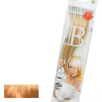 Balmain Fill-In Extensions Natural Straight Duotone 613 (level 10) Extra Light Blond