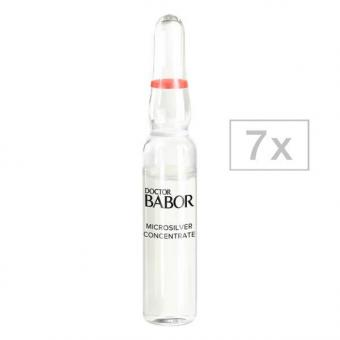 DOCTOR BABOR Neuro Sensitive Cellular Microsilver Concentrate Packung mit 7 x 2 ml