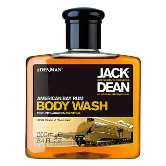 Denman Jack Dean American Bay Rum Body Wash 250 ml