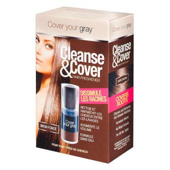 Dynatron Cover your gray Cleanse & Cover Dunkelbraun, Inhalt 12 g