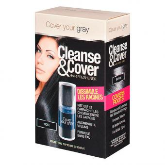 Dynatron Cover your gray Cleanse & Cover noir, Contenu 12 g
