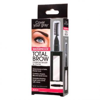 Dynatron Cover your gray Total Brow waterproof Schwarz