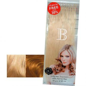 Balmain Fill-In Extensions Value Pack Natural Straight 614/23 Natural Blond/Extra Light Gold Blond - 1