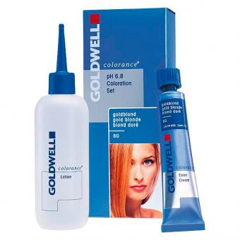Goldwell Colorance pH 6.8 2-A bleu-noir, 1 lot de portions