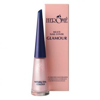 Herôme Natural Nail Colour Salmon 10 ml