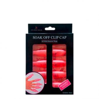 Juliana Nails Remover Clips Pink, Pro Packung 10 Stück