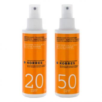 KORRES Yoghurt Sunscreen Face & Body Emulsion