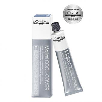 L'ORÉAL Majirel Cool Cover 7,1 Mittelblond Asch, Tube 50 ml