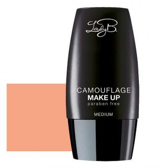 Lady B. Camouflage Make-up Mittel/Medium (2), 30 ml
